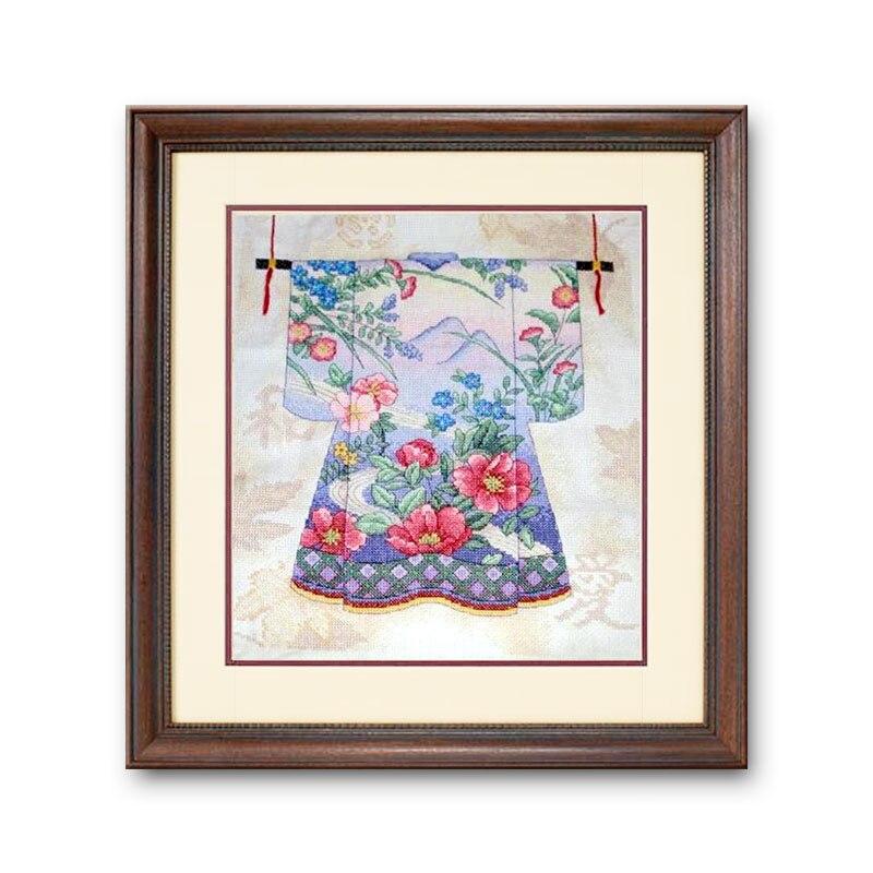 Fishxx Cross Stitch Kit T437 Kimono patrones en la costura para el ...