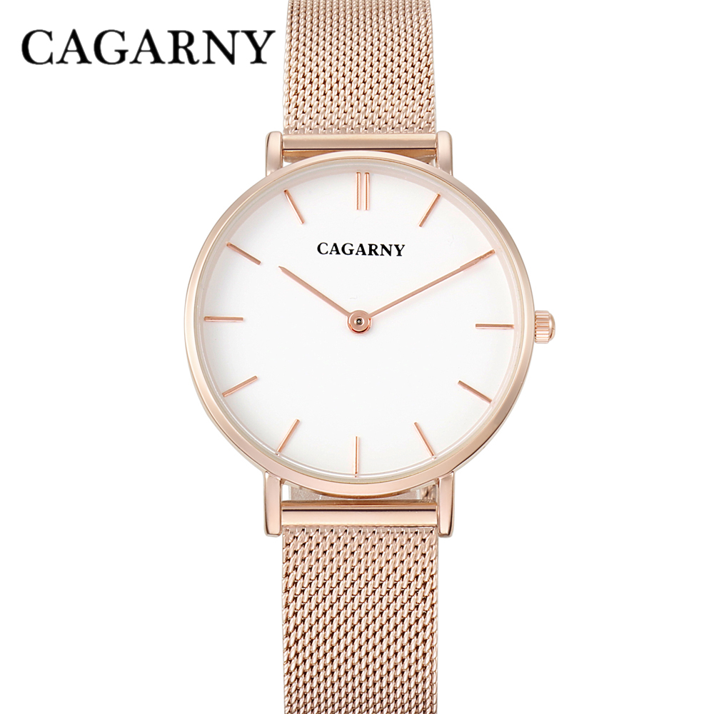 ultra thin quartz watches for women fashion ladies wristwatch drop shipping rose gold steel mesh bracelet watch gifts (12)
