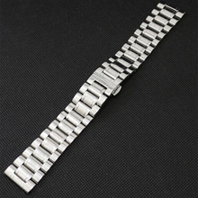 New Watchband Watch Strap 26mm 28mm 30mm Stainless Steel Watchband for Wrist Watch with Push clasp