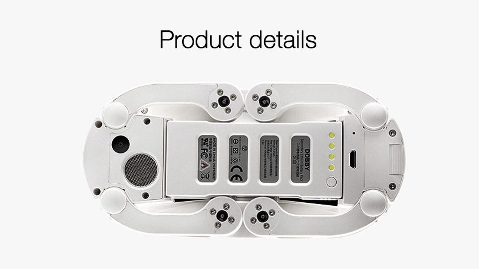 Original Zerotech Dobby Pocketable Selfie Drone FPV With 4K HD Camera GPS Smart Solution RC Quadcopter APP Control Helicopter
