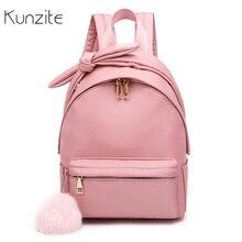 3dff4efd6 Women Nylon Backpacks Female Rucksack School Backpack For Teenage Girls Cute  Bookbag Travel Bag Bolsas Mochila