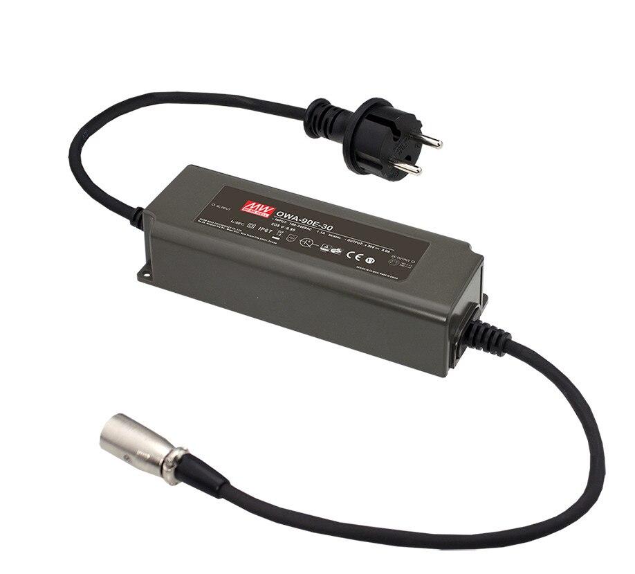 цена на MEAN WELL original OWA-90E-42 42V 2.15A meanwell OWA-90E 42V 90.3W Single Output Moistureproof Adaptor