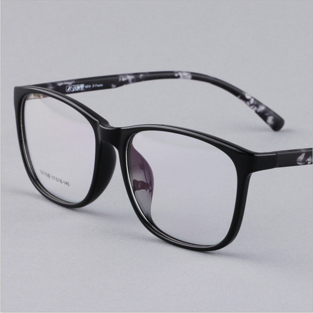 5666cb070e Mens eyewear prescription fashion retro big frame eye glasses frames .