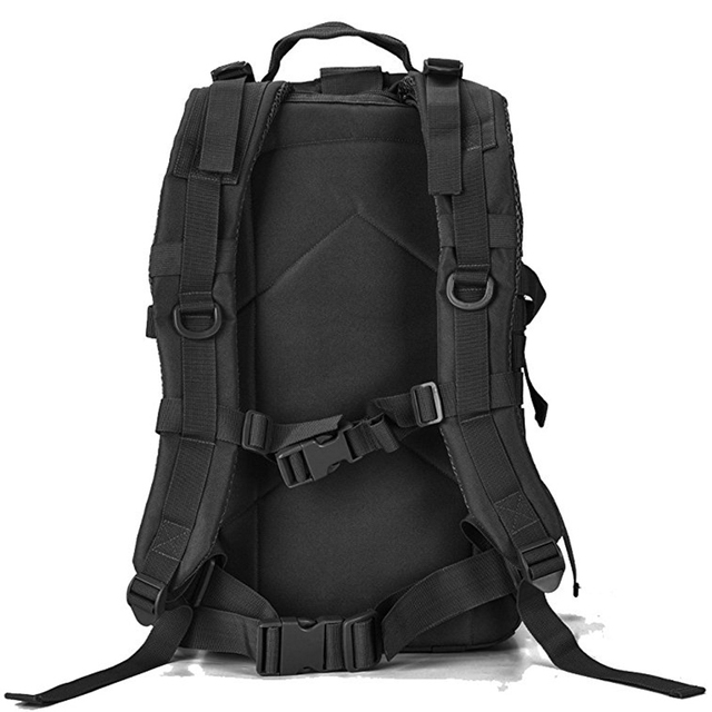 Military tactical waterproof army backpack men male 3p assault attack bag 45l large outdoor travel back pack mountaineering bags