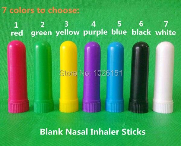 FreeShip 200 sets Blank aroma nasal inhalers, nasal inhaler containers, Blank Nasal Inhaler Sticks (Best Quality Cotton Wicks)