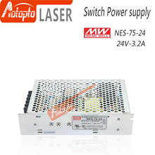 цена на Taiwan Meanwell Switching Power Supply NES-75-24 5V 12V 15V 24V  48V  for Laser Controller Single output DC Power Supply