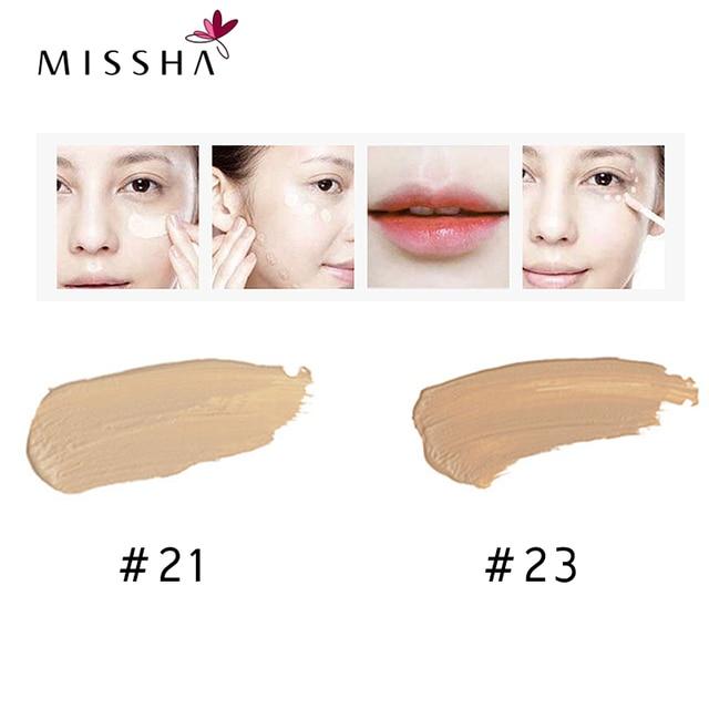 MISSHA Eye Concealer Cream Face Makeup the style under eyes brightener BB Creams Korea Cosmetics Original 6