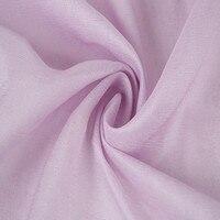 15 5 Mm 114 Cm Silk Hemp Fabric For Sewing Dress Clothes Curtains 45 Silk 55