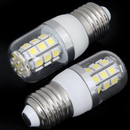 Купить с кэшбэком LED Globe Bulbs E27 5W 27 SMD5050 LED Mais Birne Lampe Beleuchtung Leuchte 240LM AC 220V free shipping Warm white cold white