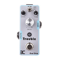 Classic Open Tube Distortion Timbre Electric Guitar Effect Pedal True Bypass Good Quality Guitar Parts Accessories