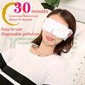 Chegam novas Óculos de Vapor Descartáveis Calor do Cuidado do Olho Aliviar A Fadiga Ocular Óculos de Sono Olho Máscara de vapor de aromaterapia massagem olho