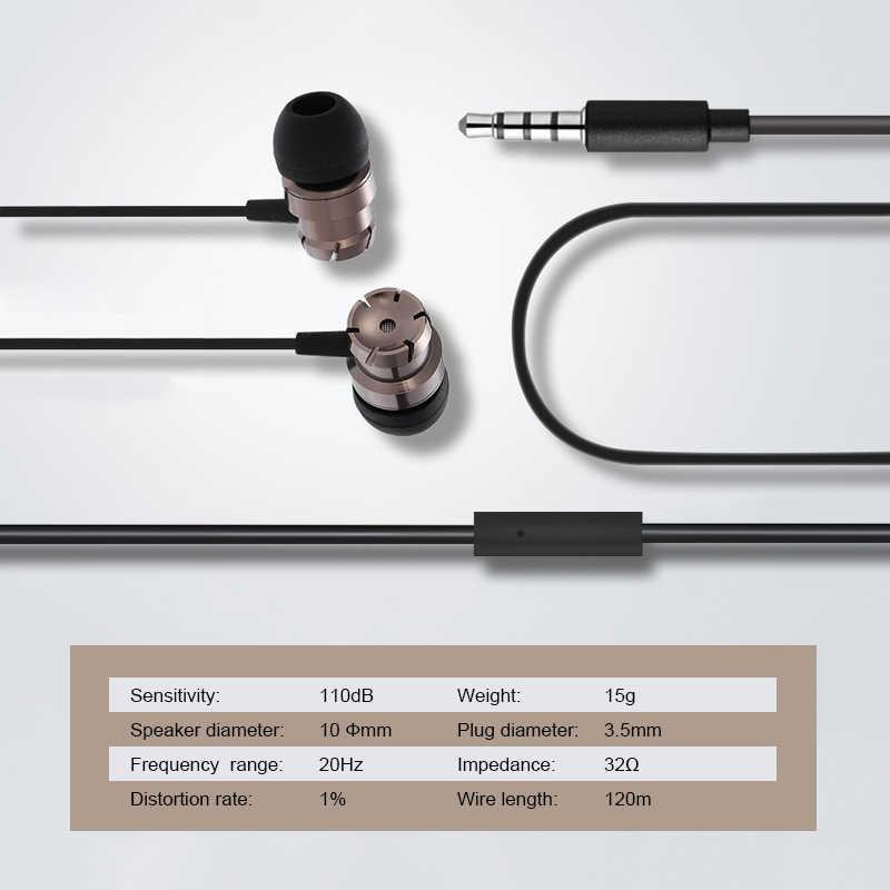 Oortelefoon voor Huawei P20/P20 Lite/P20Lite/P10 Lite Plus Zware Bass Stereo In-Ear Telefoon Headset Muziek oortelefoon Met Microfoon