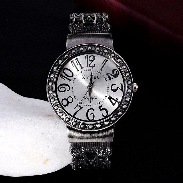 Hot Sale Retro Bracelet Watch Women Watches Rhinestone Ladies Watch Women's Watches Clock saat relogio feminino reloj mujer