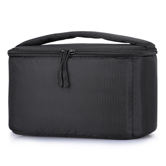 Lightweight Partition Padded Insert Protection Storage Camera Case Cover Photo Bag for Leica Nikon Canon Sony Panasonic Fujifilm