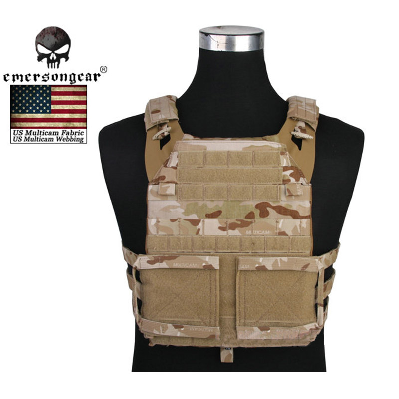 Emerson Molle Adaptive Vest JPC 2.0 Tactical Vest Plate Carrier Hunting Paintball Wargame Waistcoat Combat Gear EM7436 MCAD emerson 1000d molle jpc airsoft tactical vest simplified version outdoor training paintball hunting vest plate carrier em7344