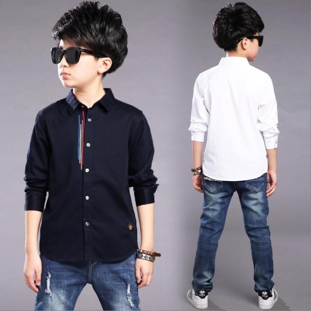 26957addf501 2018 nueva oferta primavera otoño ropa para niños camisas de manga larga  para niños grandes camisetas