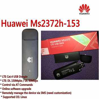 Unlocked Ms2372h-153 dongle 4G LTE wifi cable usb modem 4g wi-fi