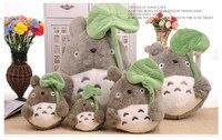Ovely Lotus Leaf Totoro Plush Toy Soft Doll Birthday Gift W5507