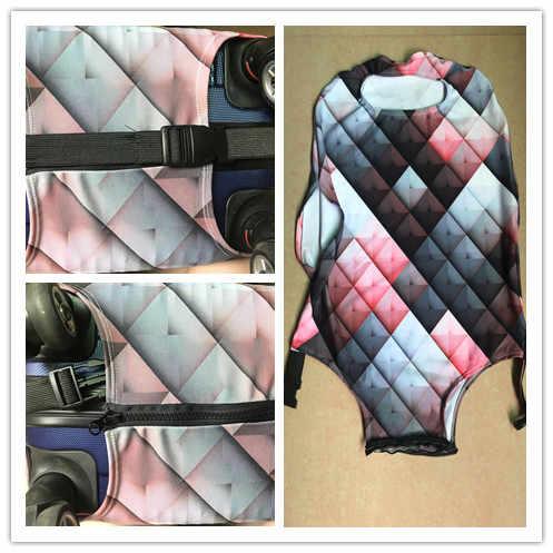 3D Сахар Череп Печать толстый дождь багаж крышка дорожные аксессуары для чемодана покрытие для сумки на колесах чехол сумка костюм для 18-30 Inchxxl