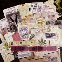 70pcs Old Newspaper Page Vintage Stickers for Scrapbooking Happy Planner/Card Making/Journaling Project NO4
