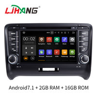LJHANG Two Din 7 Inch Android 7 1 Car DVD GPS Radio For Audi TT TTS