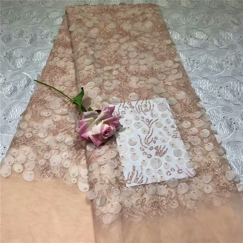 Lace African Net Lace Fabric With Stones Embroidery Milk Silk Tulle Lace Fabric Fashion Nigeria Lace Fabric For Wedding 2l30d13-16 At Any Cost Arts,crafts & Sewing