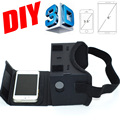 Magnet Google Cardboard DIY VR Virtual Reality 3D Glasses Magnet VR Box Controller 3D VR Glasses for iPhone Android Samsung