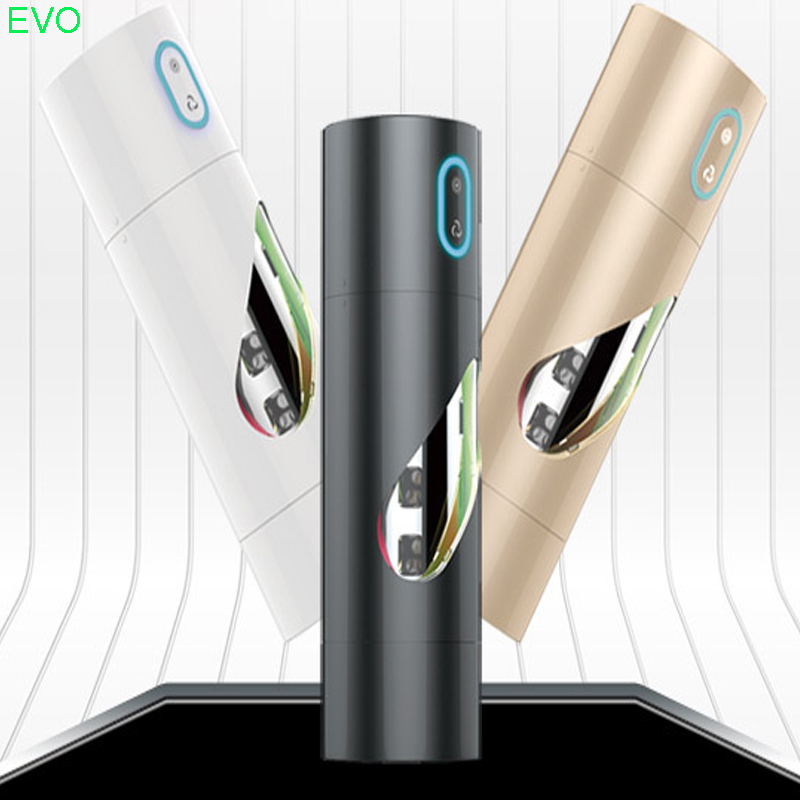EVO Electric 5 Speeds Rotation Male Masturbator Cup Vibrating Sex Machine Intelligent Realistic Vagina Pussy Sex Toy For Man new male vibrating mouth vaginal masturbator sex toy 360327