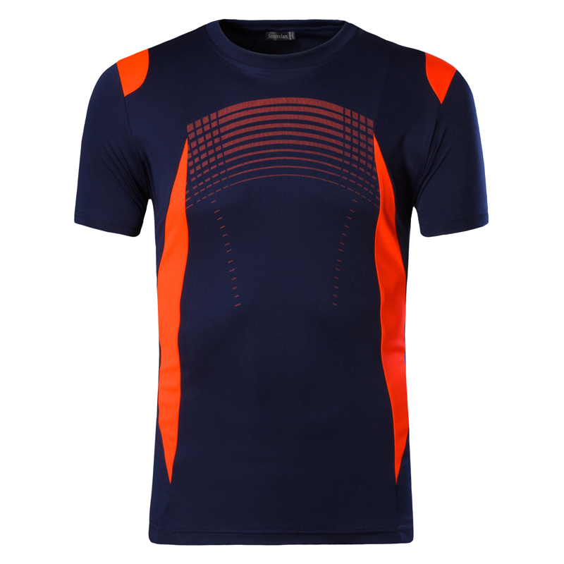 New Arrival 2019 Men Summer   T     Shirt   Casual Quick Dry Slim Fit   Shirts   Tops & Tees Size S M L XL LSL194(PLEASE CHOOSE USA SIZE)