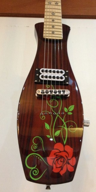 Free Shipping Vase Shape Electric Guitar With Wilkinson Pickup In