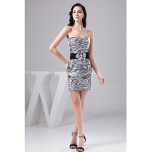 Zebra cocktail dress online shopping-the world largest zebra ...