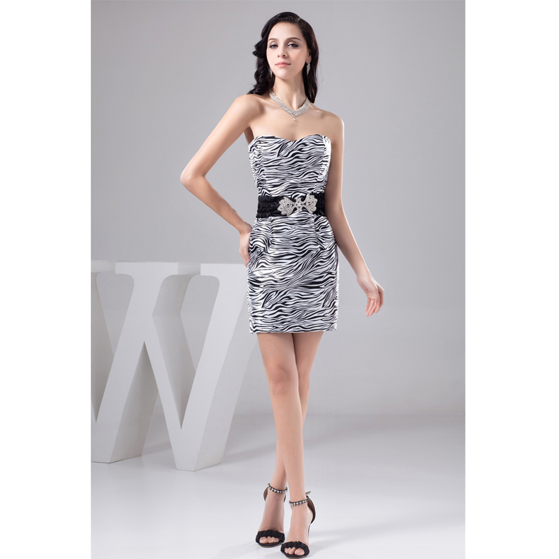 Compare Prices on Zebra Cocktail Dresses- Online Shopping/Buy Low ...