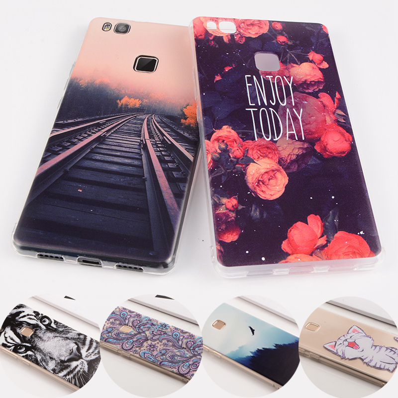 Cover Back Case For Honor 9I Cover Case For Huawei P Smart Nova2i Y5II Y6 Mate10 P9 P10 Lite TPU Silicone Phone Coque