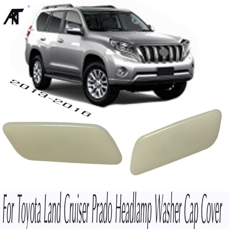 Right &Left <font><b>Headlamp</b></font> <font><b>Washer</b></font> Cap <font><b>Cover</b></font> For Toyota Land Cruiser Prado 150 85044-60180 <font><b>HEADLAMP</b></font> HEADLIGHT <font><b>WASHER</b></font> NOZZLE JET <font><b>COVER</b></font> image