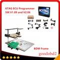 K-TAG KTAG ECU Инструмент программирования KTAG мастер ЭКЮ программист Чип 6 языков + BDM Рамка Полный адаптер для FGTECH BDM100 Kess