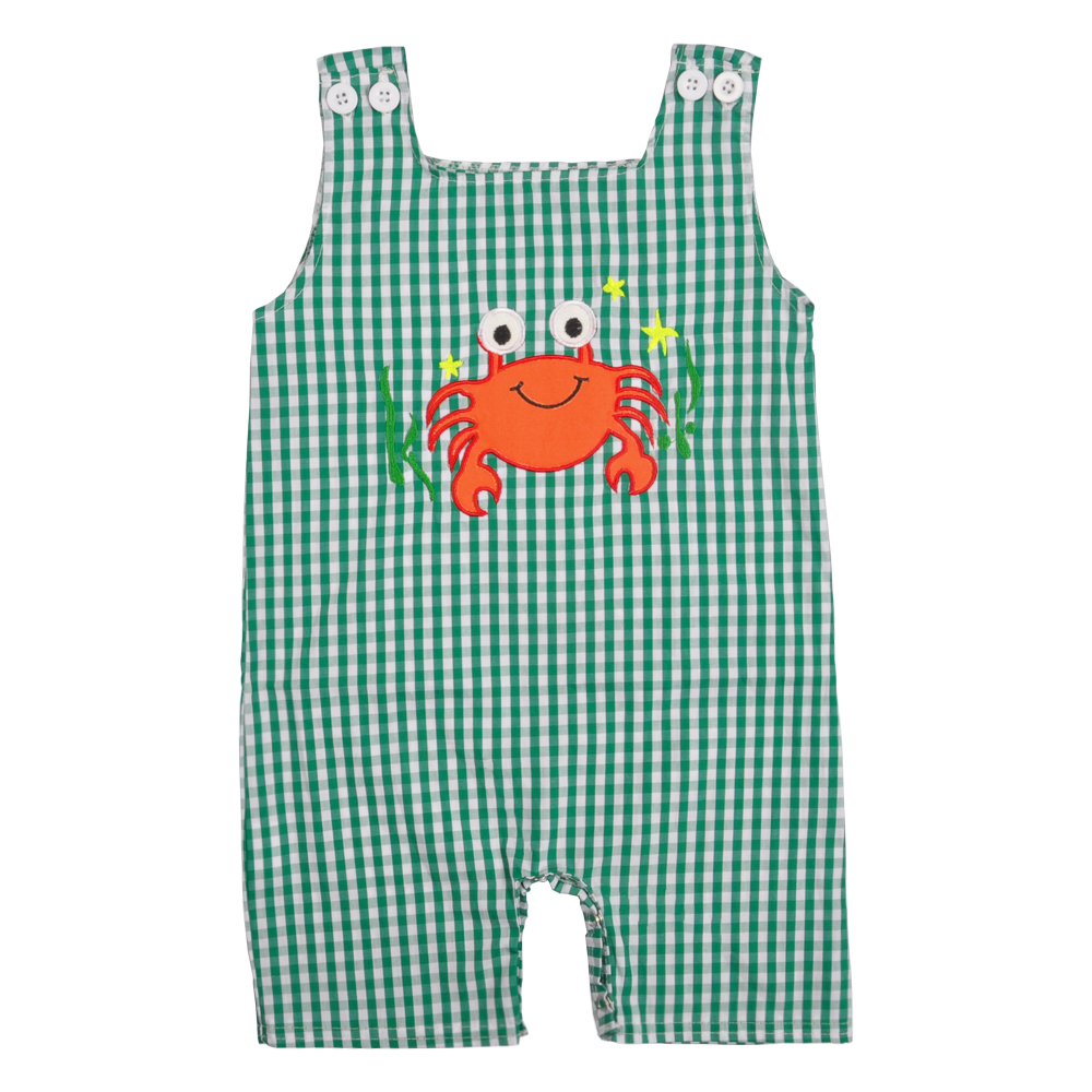 Boutique Boys   Romper   baby clothes Conice NINI Crab Pattern New2019 Baby   Rompers   Cotton Baby Boy Clothes BPF903-127-HY