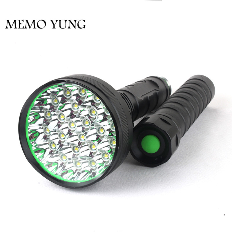 Rechargeable 35000lm 10x XM-L T6 LED Flashlight Torch 5-Modes 3x18650+Charger