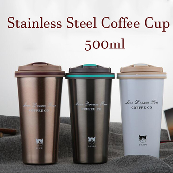 New Stainless Steel Coffee Thermos with Lid
