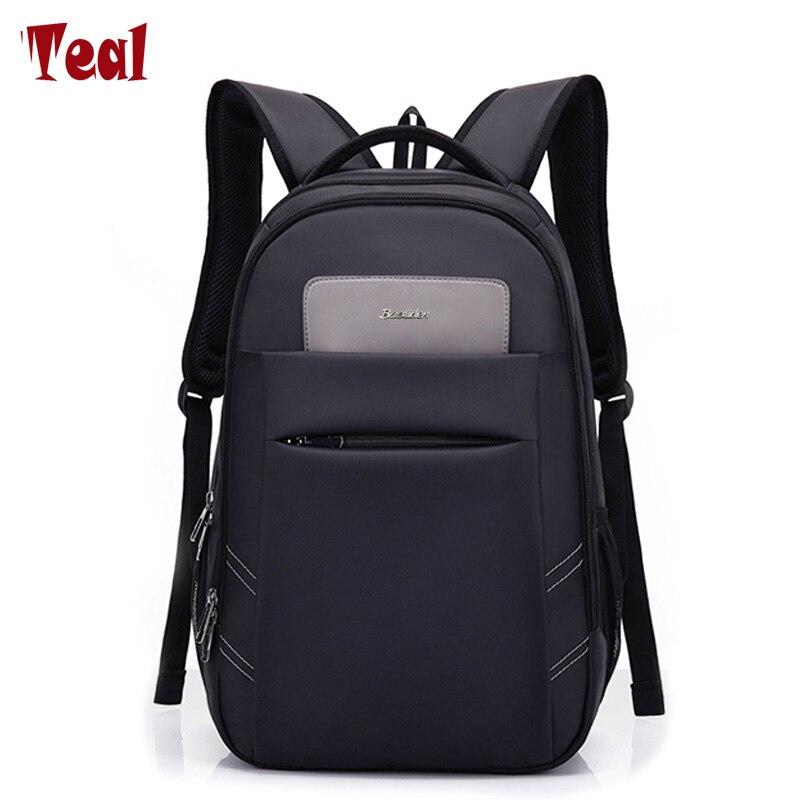 2017 Neue Mode Männer Rucksack 15,6 Zoll Laptop Business-rucksack Große Kapazität Männlichen Rucksäcke Reißverschluss Hohe Qualität Rucksäcke SchöNe Lustre Gepäck & Taschen