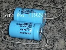 [BELLA]MALLORY U.S. Maoluo Li fever axial 450UF50V genuine original stock wholesale–10pcs/lot