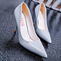 Primavera 2016 senhoras de salto alto sapatos único sensuais das mulheres comércio Coreano sapatos da moda por atacado