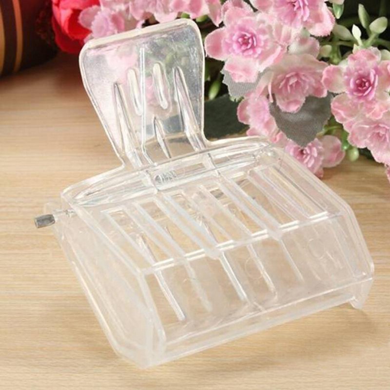 Beekeeping Equipment Isolation Room Insectary Box Bee Tools Queen Cage Colorless Plastic Clip Bee Clip Beekeeper Equipment