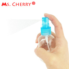50ML Small Empty Spray Bottle PlasticTransparent For Make Up Skin Care Refillable Bottle Makeup Tools & Accessories MT041