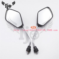 motorcycle rearview mirror parts for kawasaki honda suzuki yamaha Harley Ducati KTM motorbike Black Reflector mirror 8mm 10mm