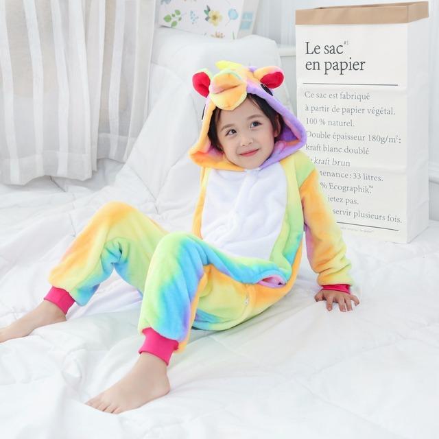 Children Unicorn Onesie Pajamas