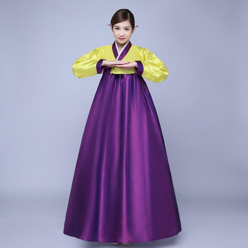 Contemporáneo Vestido De Novia Coreano Tradicional Cresta - Vestido ...
