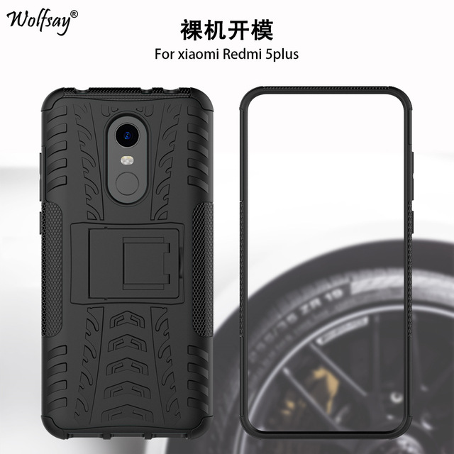 size 40 84f08 045a2 US $2.7 34% OFF|Wolfsay For Phone Cover Xiaomi Redmi 5 Plus Case Anti knock  Silicone Armor Case For Xiaomi Redmi 5 Plus Cover Redmi 5 Plus 5.99