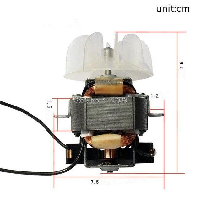 Một pha loạt động cơ AC 220V 50HZ tóc công suất Cao động cơ máy sấy, công suất Cao máy sấy tóc phụ kiện, J17620