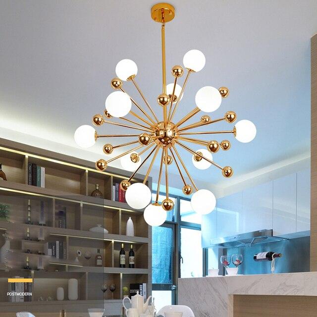 led g9 Postmodern Iron Glass LED Lamp LED Light.Pendant Lights.Pendant Lamp.Pendant light For Dinning Room Foyer