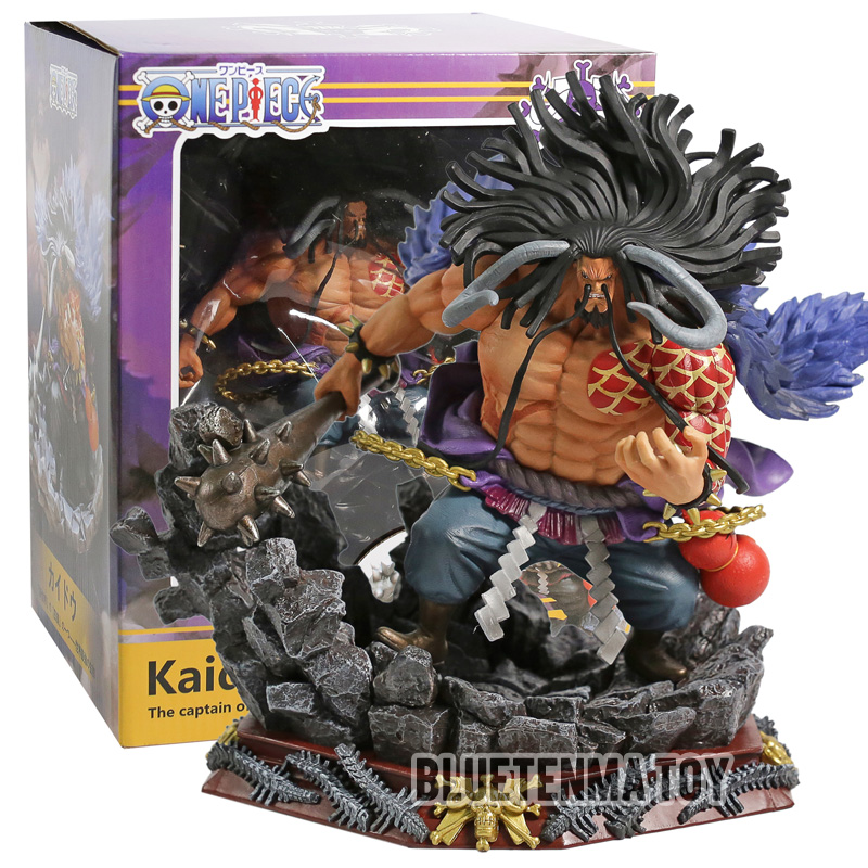 anime model action One Piece Kaido toy figrues battle version PVC painted collectible figrurine toy kids
